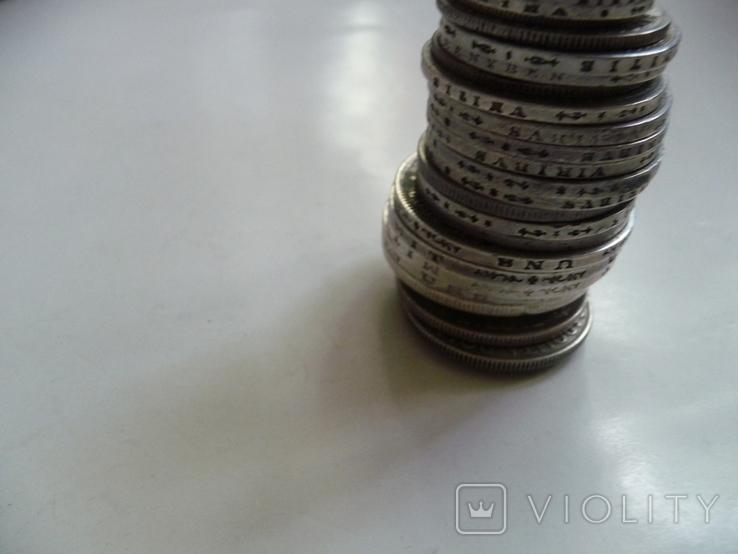 25 коллекционных серебряных монет, фото №6