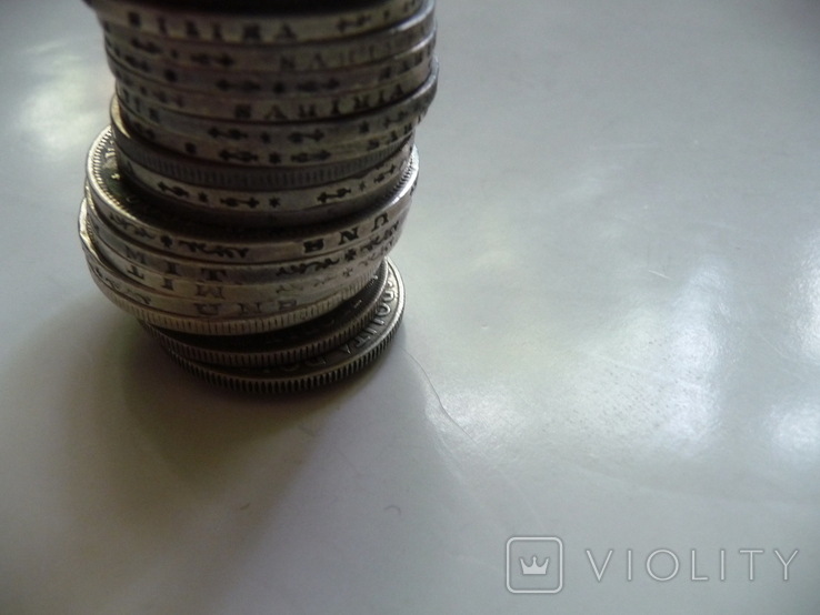 25 коллекционных серебряных монет, фото №8
