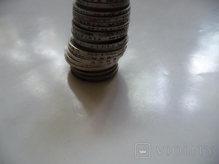 25 коллекционных серебряных монет, фото №9