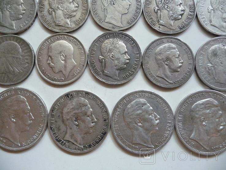 25 коллекционных серебряных монет, фото №11