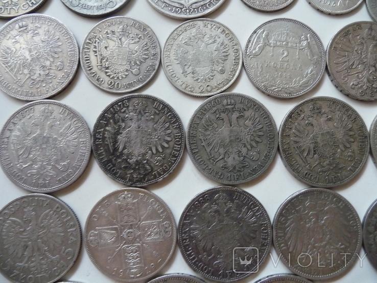 25 коллекционных серебряных монет, фото №13