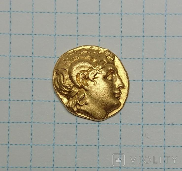 Золотой статер Лисимаха 297 - 63 гг. до н.э., фото №2