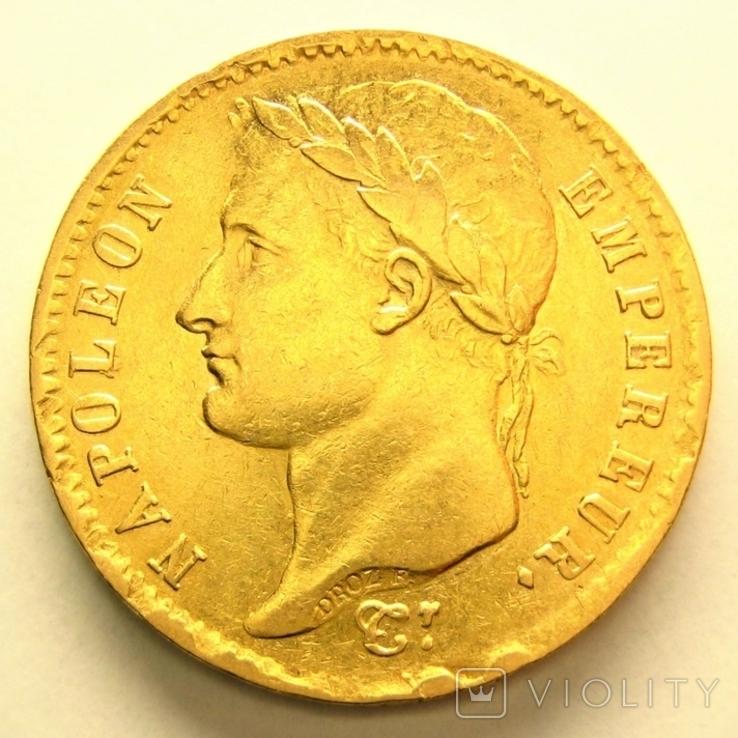 Франция 20 франков 1808 г.