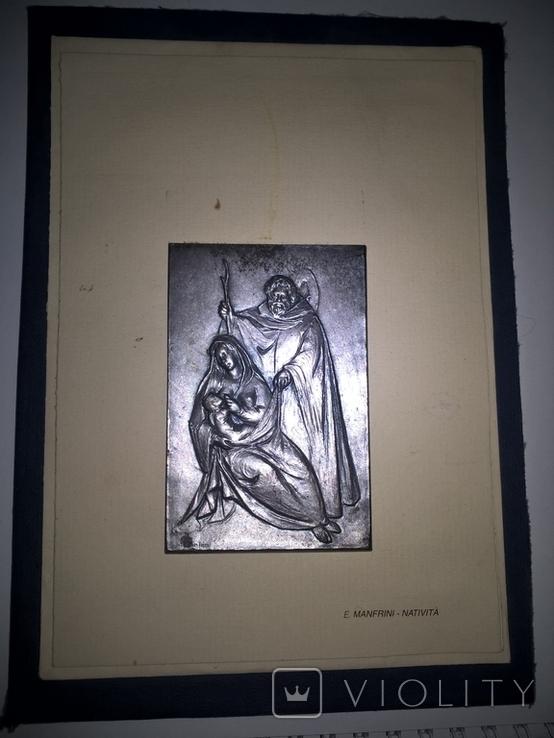 Бляшкa из рождественской серии Enrico Manfrini., фото №3