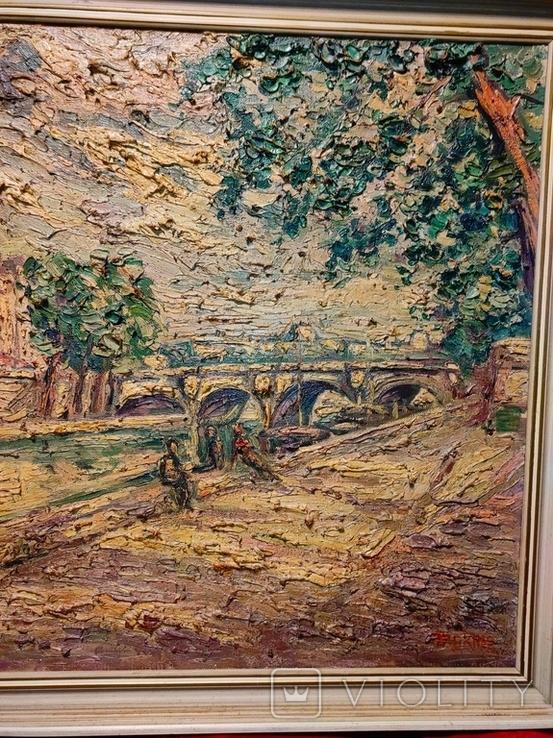 Verner Trokner,Pont Neuf Paris, фото №4