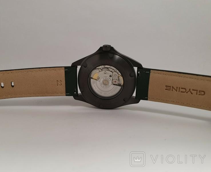 Новые Glycine Combat 6 Vintage Dark Green Automatic, фото №4