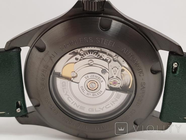 Новые Glycine Combat 6 Vintage Dark Green Automatic, фото №5