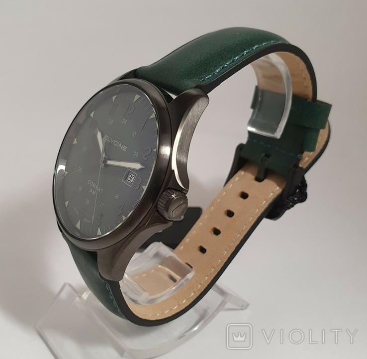 Новые Glycine Combat 6 Vintage Dark Green Automatic, фото №7