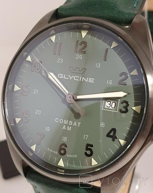 Новые Glycine Combat 6 Vintage Dark Green Automatic, фото №10