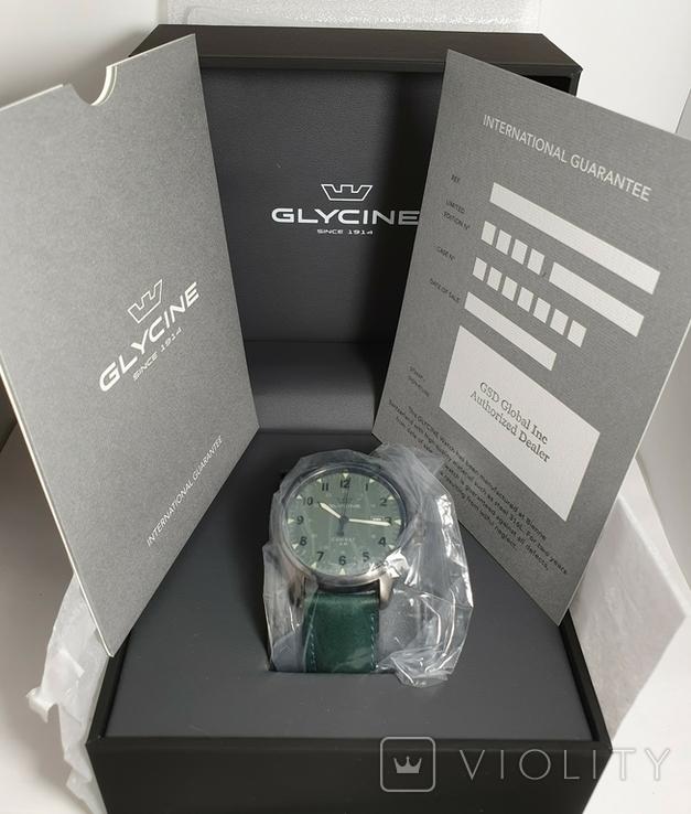 Новые Glycine Combat 6 Vintage Dark Green Automatic, фото №12