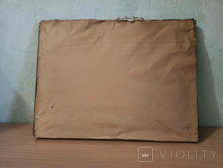 Картина - вышивка. Домик зимой., фото №8