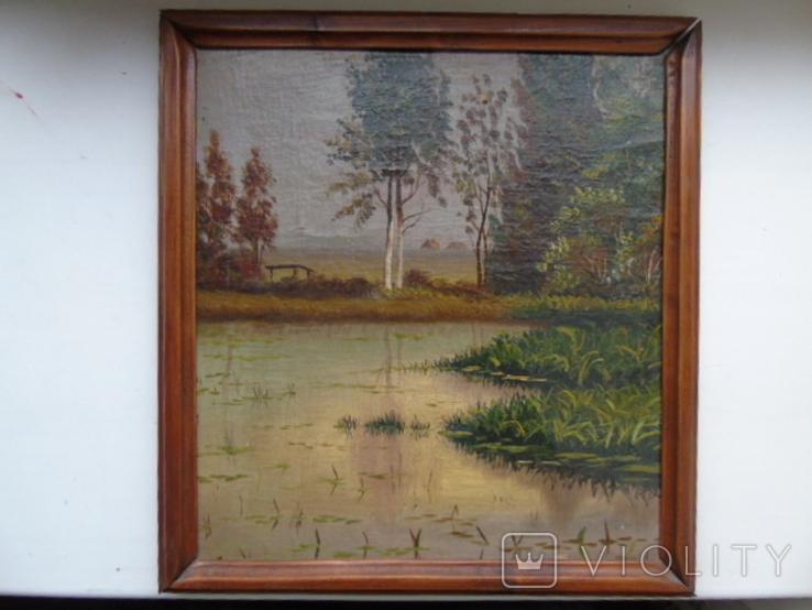 Пейзаж. Глущенко, фото №2