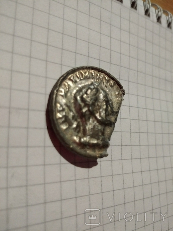 Старинная пуговица (возможно Древний Рим), фото №4