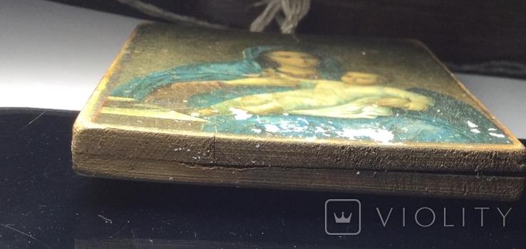 Икона Божией Матери (Феофания) 1895 год, фото №6