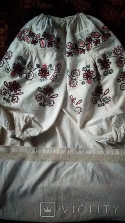 Старинная  вышиванка тамбуром, фото №8