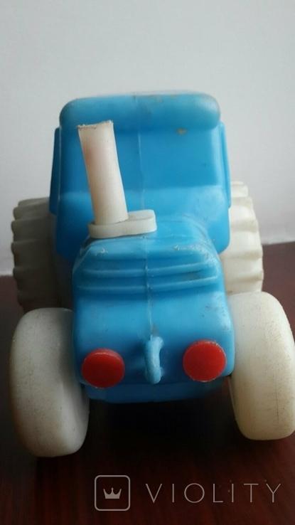 Игрушка СССР Трактор Пламас, фото №3