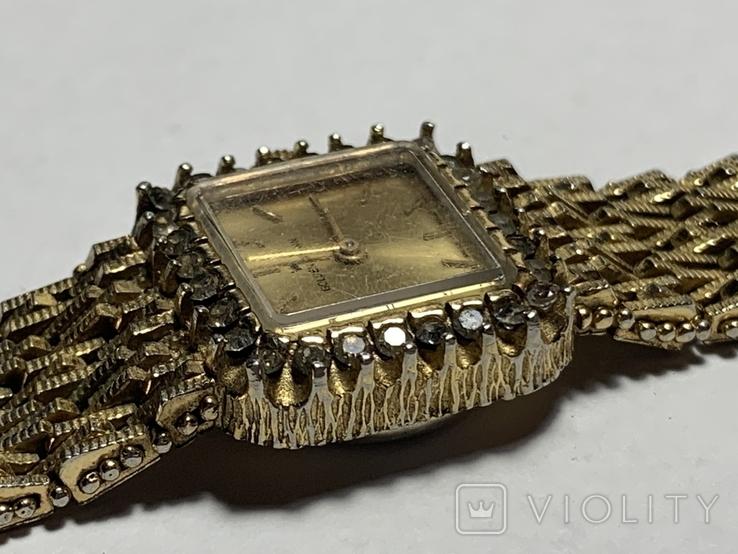 Женские винтажные часы Golden Crown Swiss made, фото №7