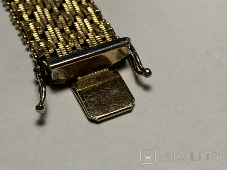 Женские винтажные часы Golden Crown Swiss made, фото №9