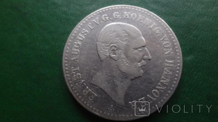 Талер 1840 Ганновер  серебро (2.3.16)~, фото №4