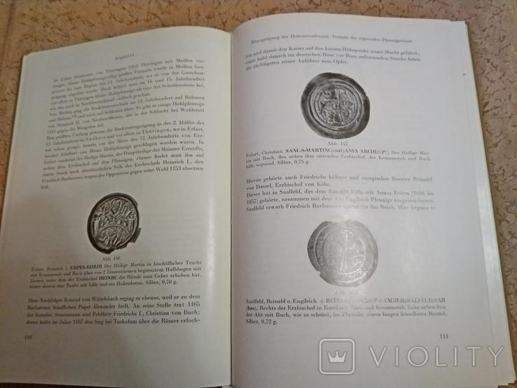 История монет и денег Германии от возникновения до 15 ст.на нем.языке.А.Зуле 1971г., фото №5