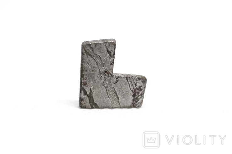 Заготовка-вставка з метеорита Seymchan, 2,3 г, із сертифікатом автентичності, фото №5