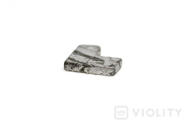 Заготовка-вставка з метеорита Seymchan, 2,3 г, із сертифікатом автентичності, фото №10