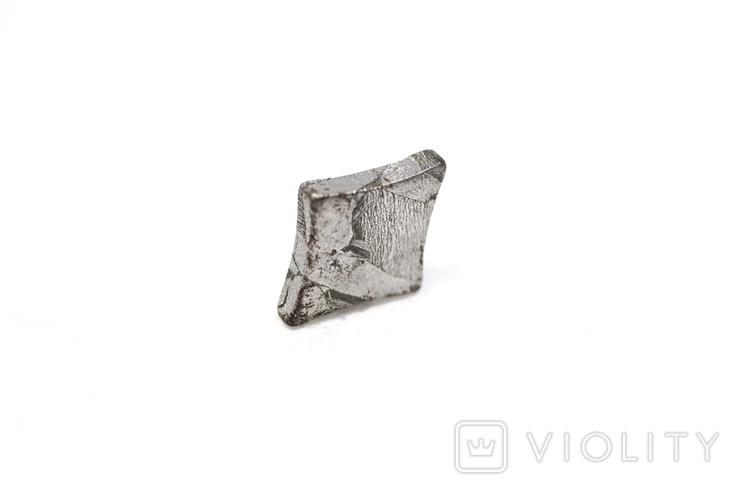 Заготовка-вставка з метеорита Seymchan, 1,5 г, із сертифікатом автентичності, фото №2