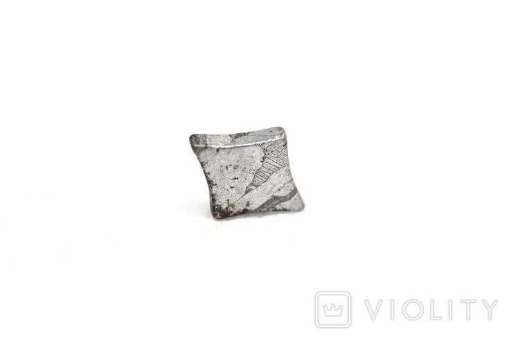 Заготовка-вставка з метеорита Seymchan, 1,5 г, із сертифікатом автентичності, фото №6