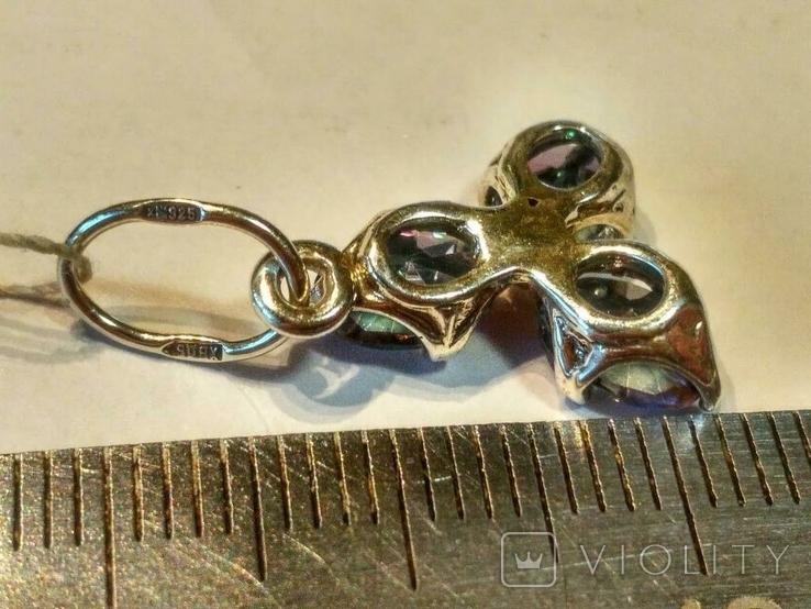Кулон ( new 4 ) серебро, фото №4