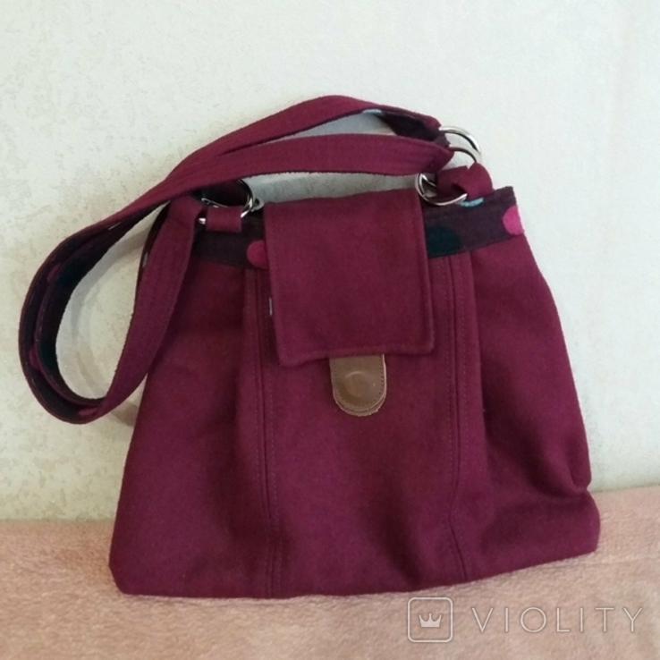 Новая сумка из сукна Earth squared, фото №2