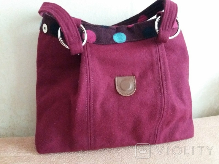 Новая сумка из сукна Earth squared, фото №7
