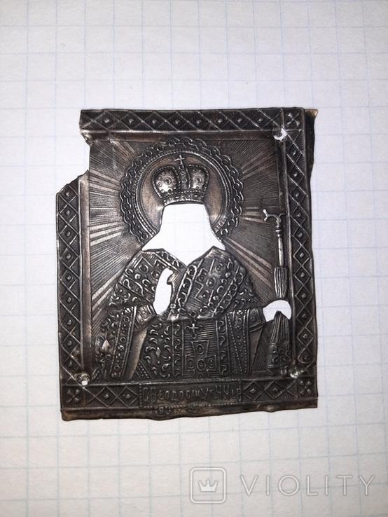 Иконка оклад серебро, фото №3