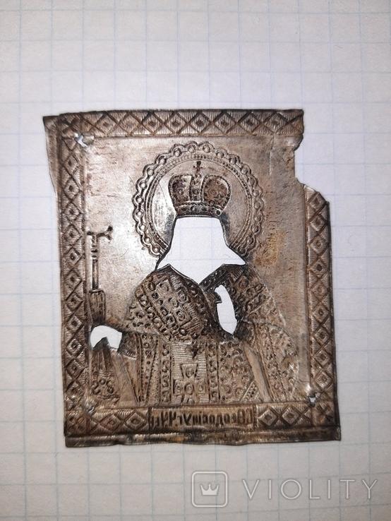 Иконка оклад серебро, фото №5
