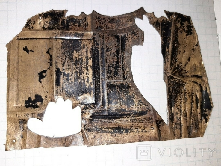 Часть латунного оклада, фото №4