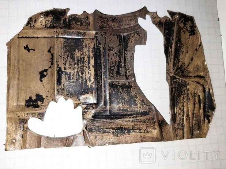 Часть латунного оклада, фото №5