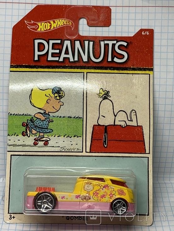 Hot Wheels Peanuts Qombee 6/6, фото №2