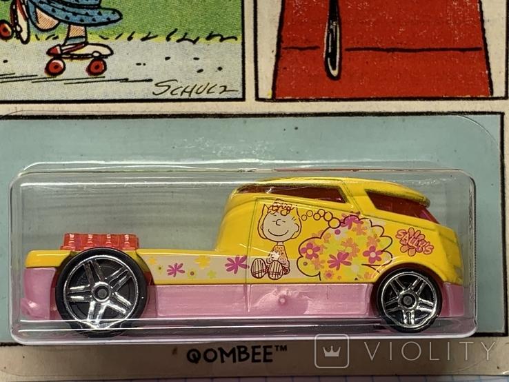 Hot Wheels Peanuts Qombee 6/6, фото №3