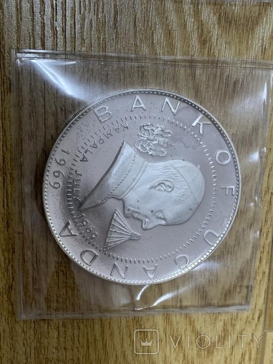 2, 5, 10, 20, 25, 30 Шилингов 1969 Уганда, фото №7