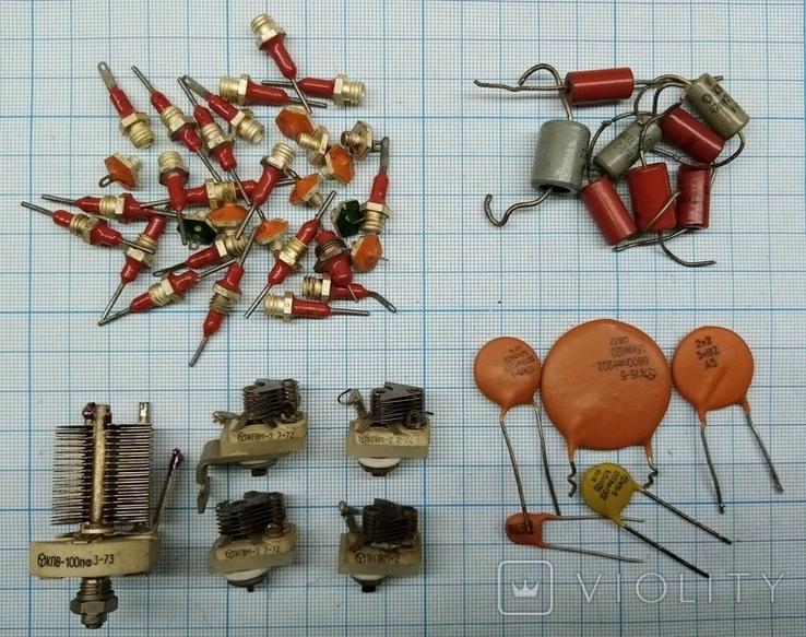 №486 Конденсаторы для радиолюбителя, фото №2