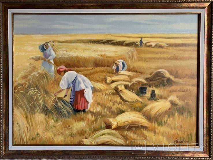 """Картина """"Жныва"""" 50-70см"""