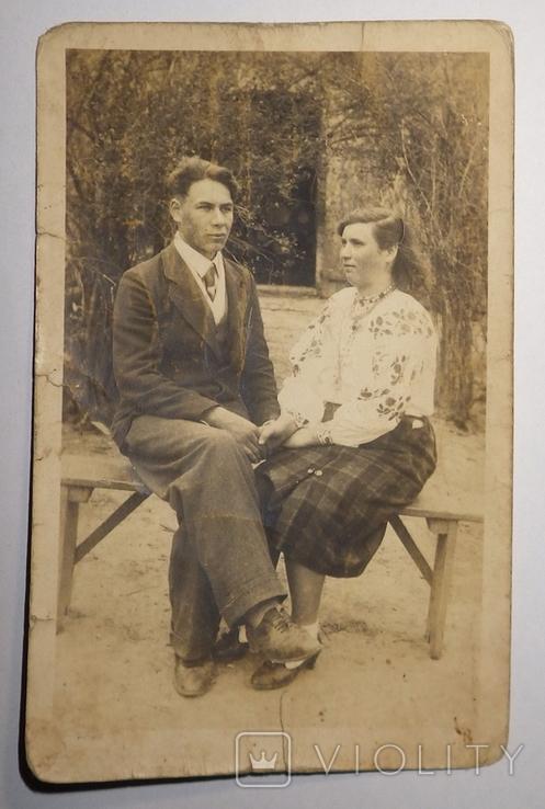 Закохані, остарбайтери, дівчина українка, 40-ві роки, фото №2