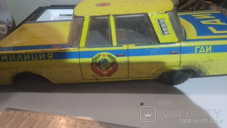 Автомобиль Кубань, игрушка СССР, фото №2