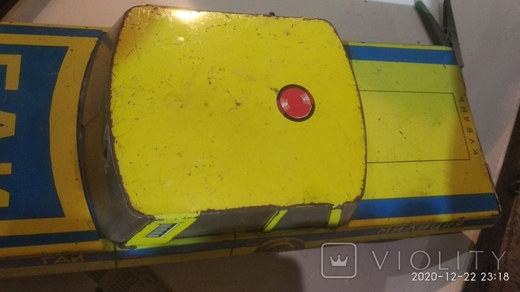 Автомобиль Кубань, игрушка СССР, фото №9