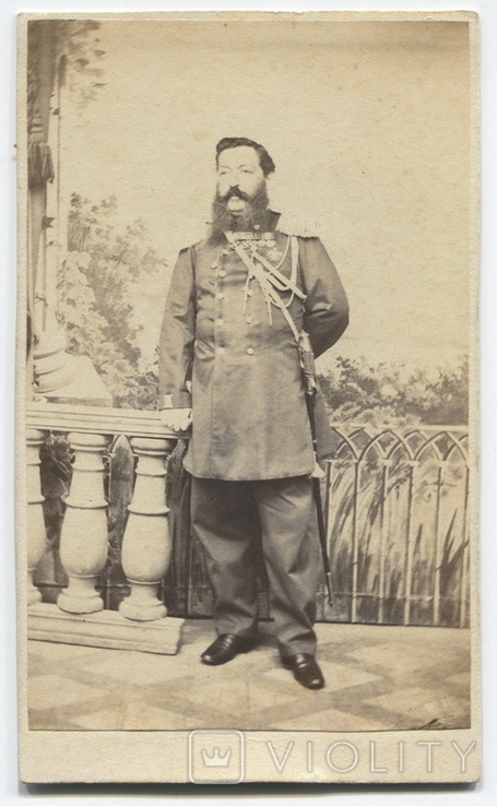 Штаб-офицер с наградами. 1870-е гг.