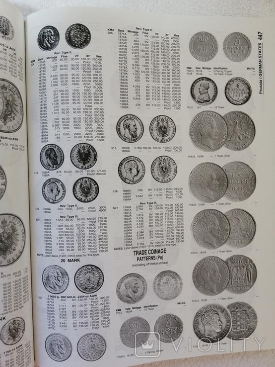 Стандартный каталог монет мира 1801-1900. World coins L. Krause and C. Mishler, фото №7
