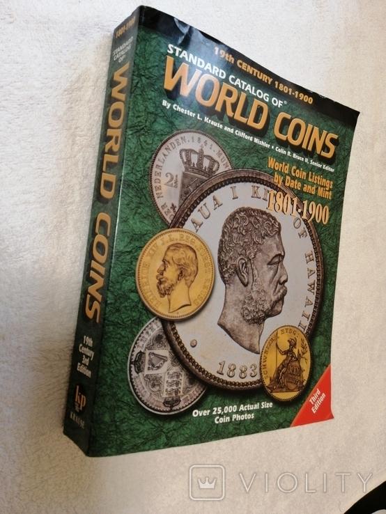 Стандартный каталог монет мира 1801-1900. World coins L. Krause and C. Mishler, фото №9