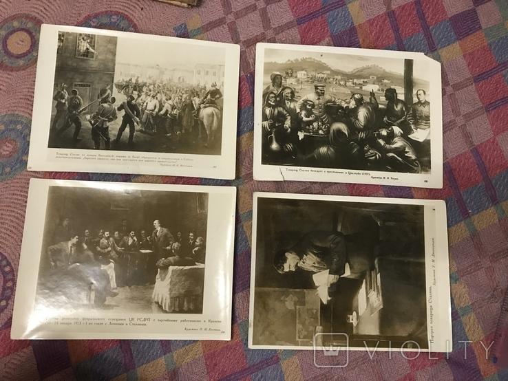 И. Сталин в произведениях Живописи художников Грузии - 1938г, фото №5