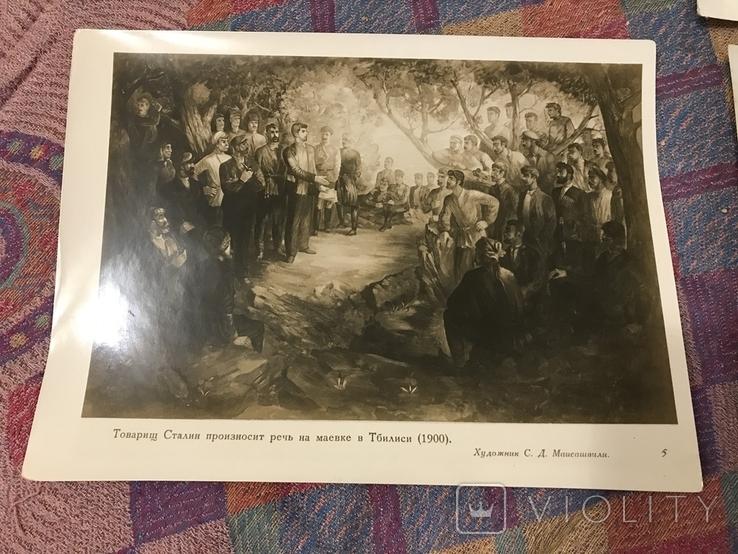 И. Сталин в произведениях Живописи художников Грузии - 1938г, фото №11