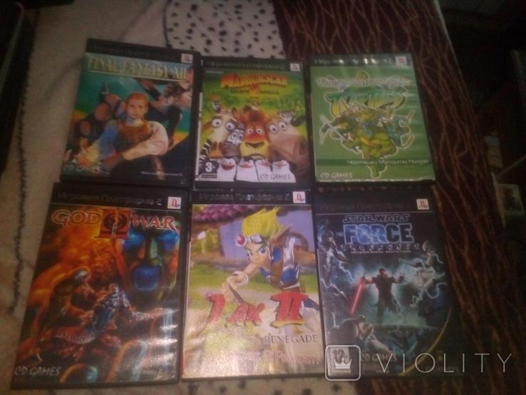 Игры PS 2 60 штук, фото №4