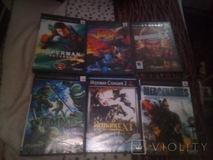 Игры PS 2 60 штук, фото №5